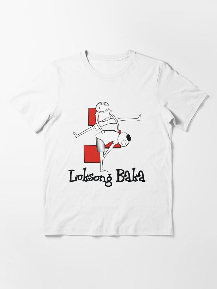 Alternate view of Laro ng Lahi: Luksong Baka Prints Essential T-Shirt