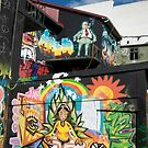 Reykjavik Graffiti I by Louise Fahy