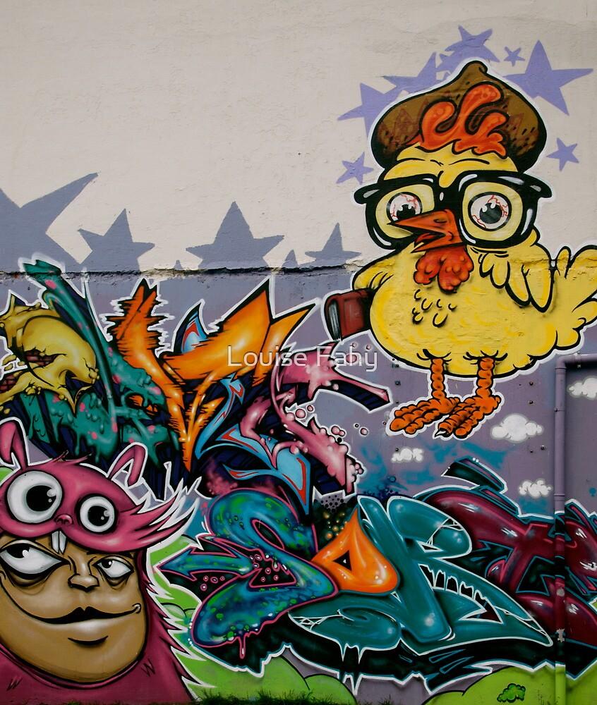 Reykjavik Graffiti II by Louise Fahy