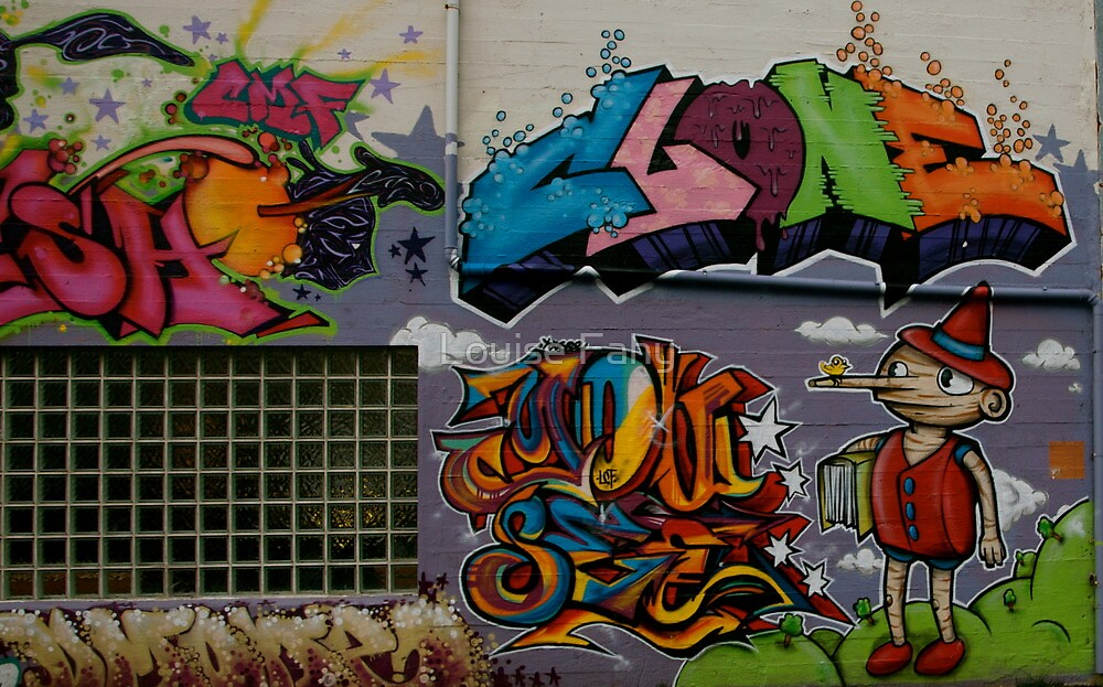 Reykjavik Graffiti III by Louise Fahy