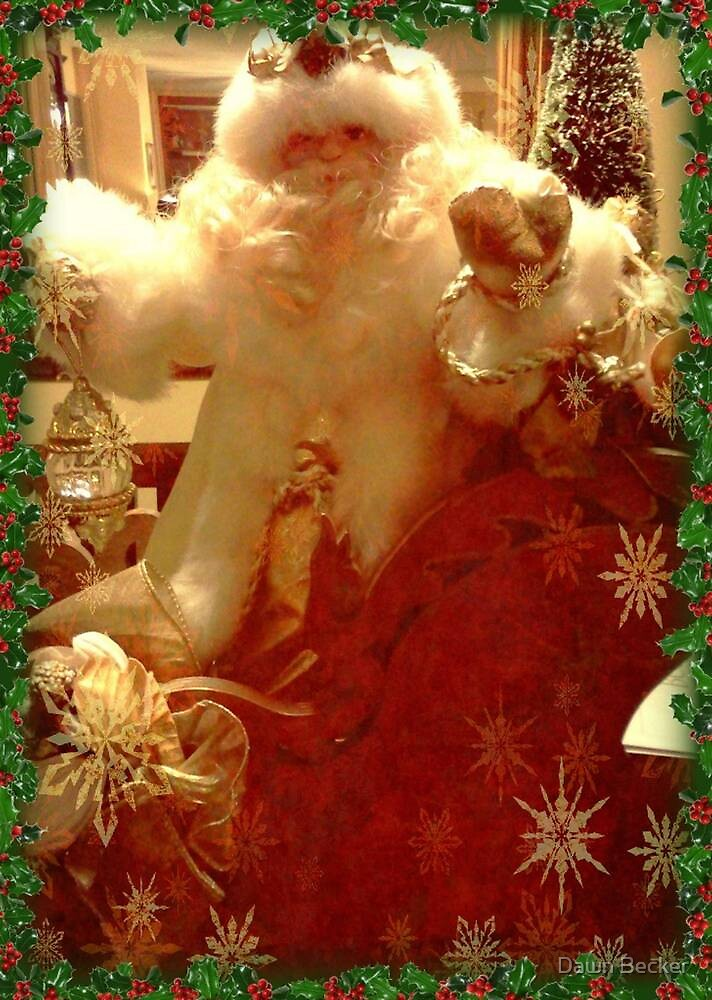 Father Christmas © by Dawn Becker