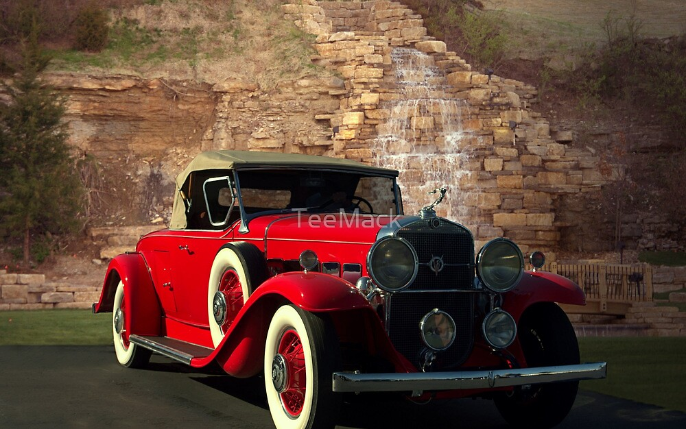 1931 Cadillac Roadster V8 Model 355 by TeeMack