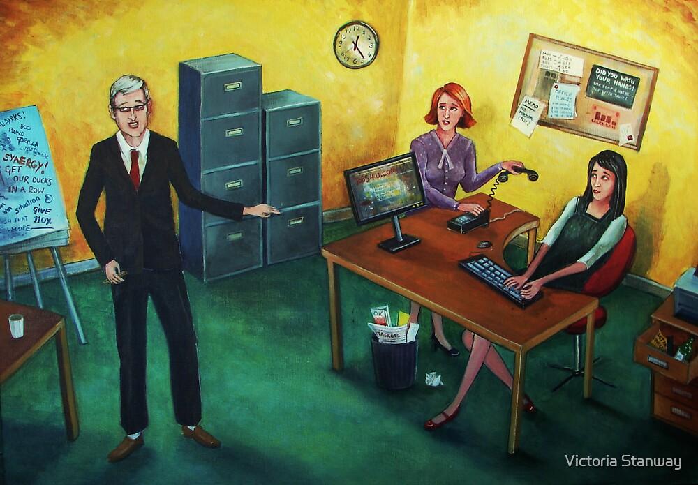Job Satisfaction by Victoria Stanway