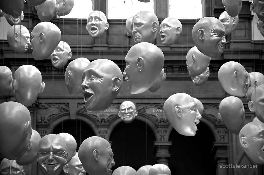 Kelvingrove Heads by scottalexander