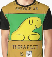 Hand Bananas Therapist Service Graphic T-Shirt
