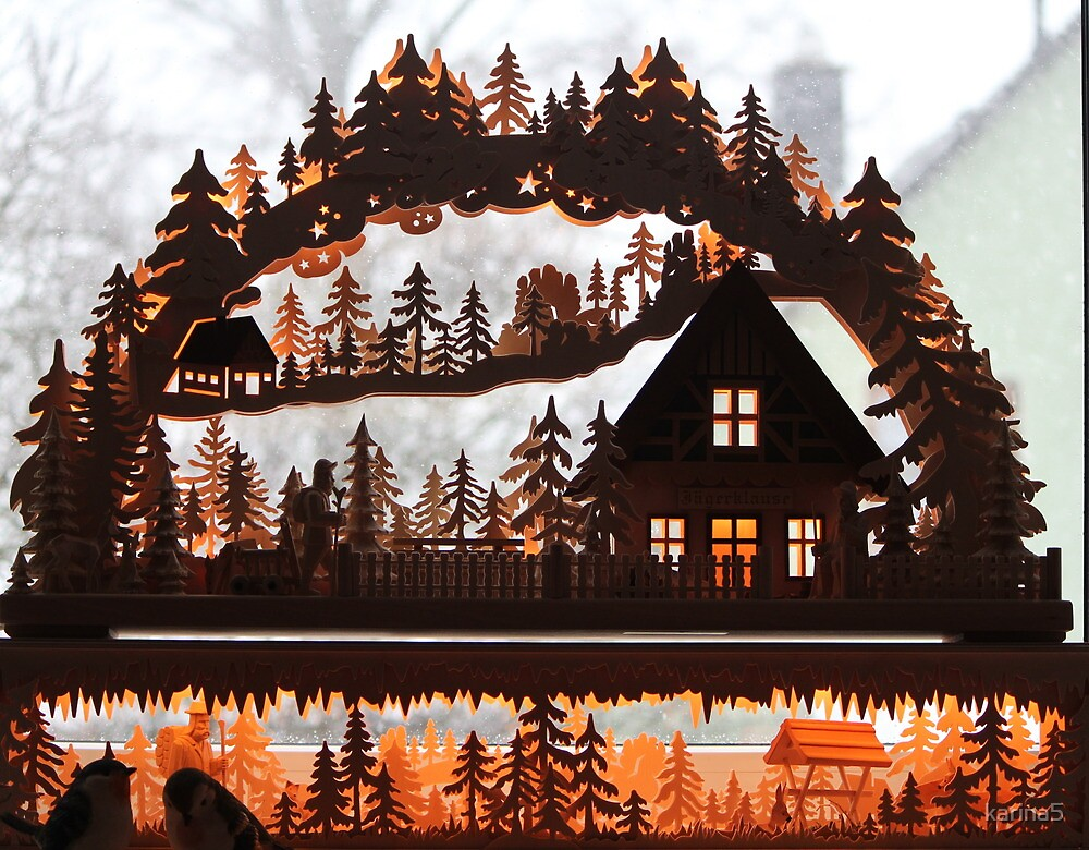Schwibbogen - Merry Christmas by karina5