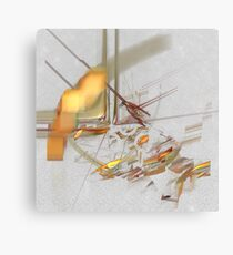 Sketching the city: the Latin Quarter Canvas Print