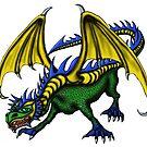 Dragon cartoon drawing art by Vitaliy Gonikman
