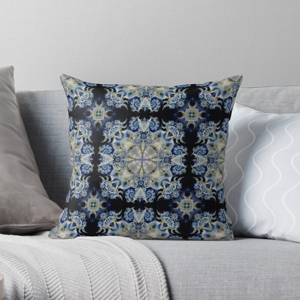 Kaleidoscope Kreation 1025 Throw Pillow