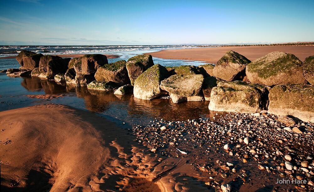 December Beach by John Hare