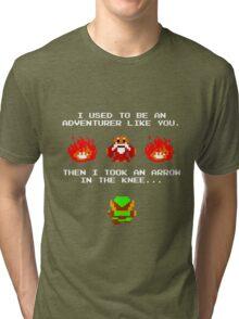 I Was An Adventurer Like You Tri-blend T-Shirt
