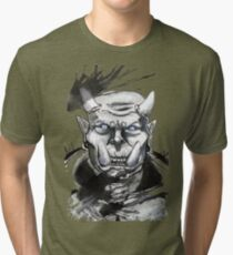 Somewhat miffed Orc Tri-blend T-Shirt