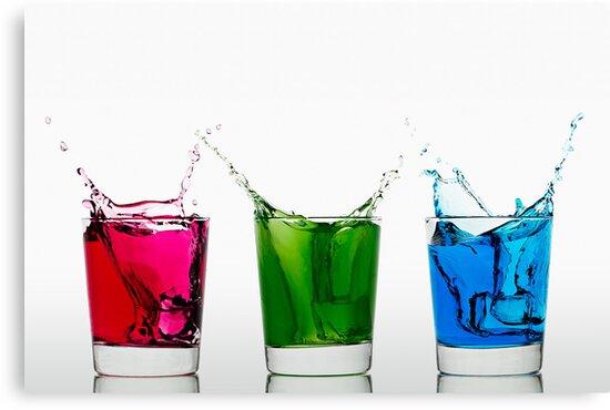 RGB Splash by Gert Lavsen