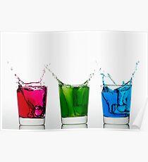 RGB Splash Poster