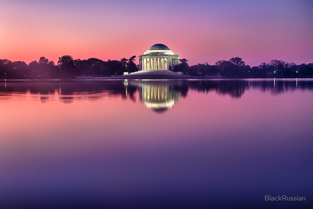 Jefferson Monument 2 by BlackRussian