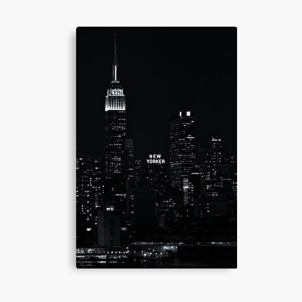 The New Yorker Hotel Canvas Print