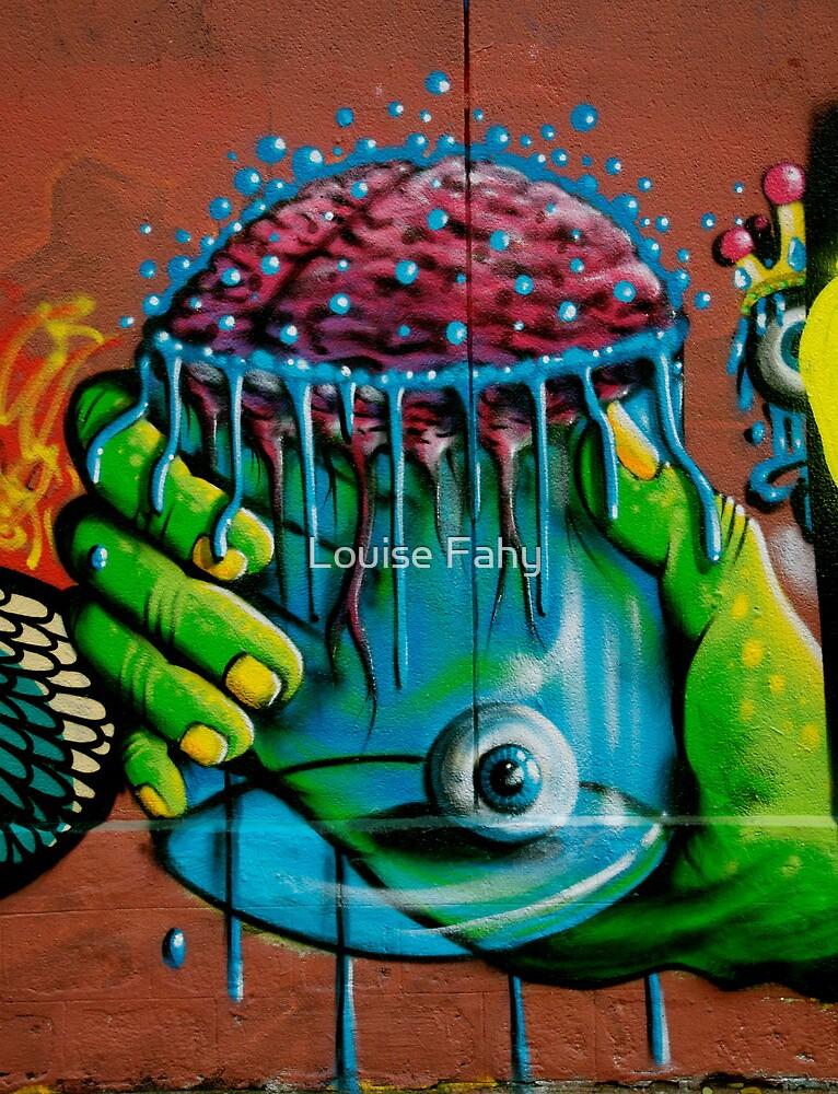 Paris Graffiti 2011 I by Louise Fahy