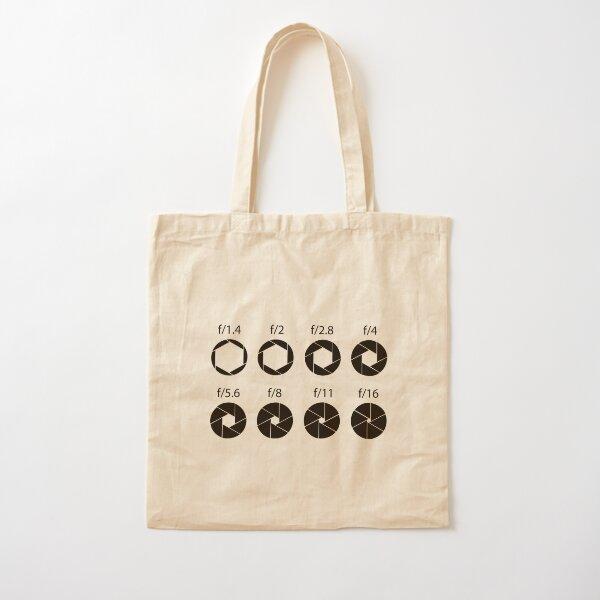 F-stops - Black Cotton Tote Bag