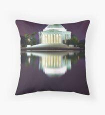 Jefferson Memorial 1 Throw Pillow
