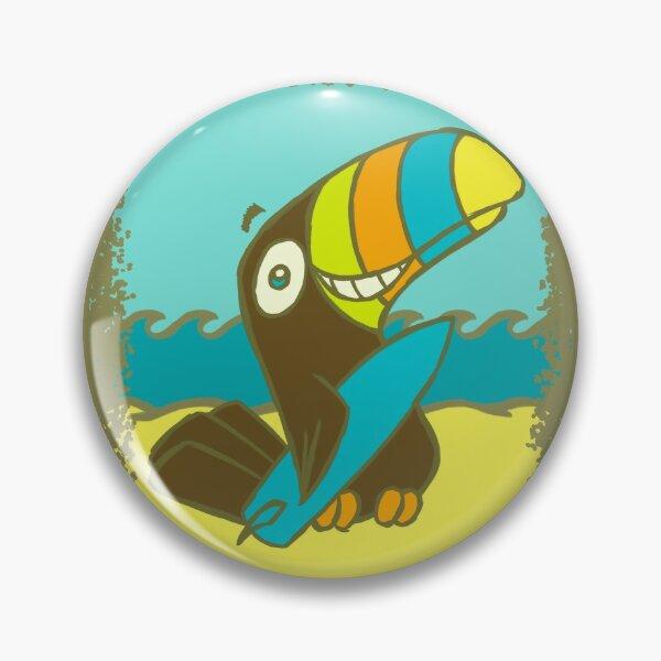 Surfin' Toucan! Pin