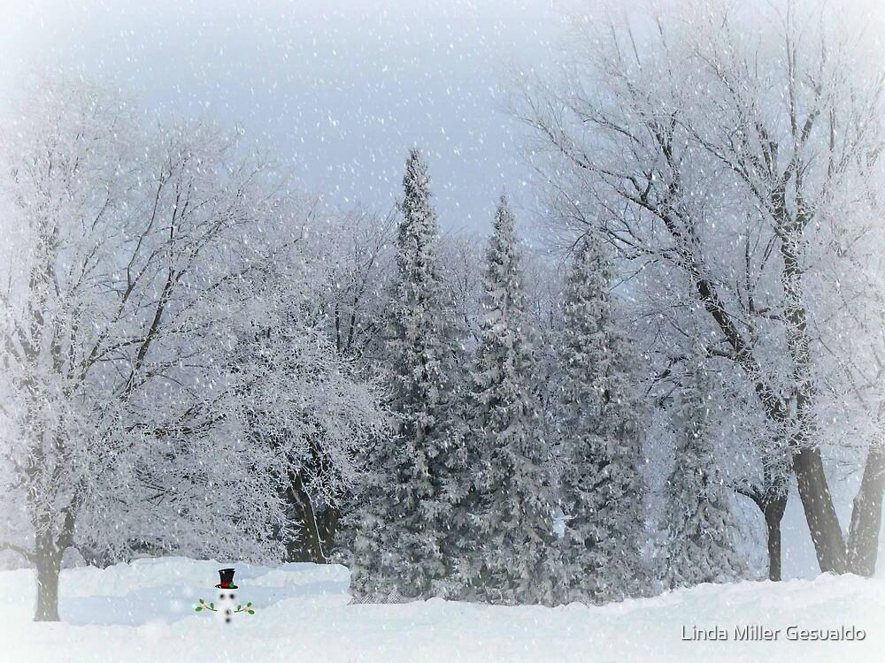 Frosty The Snow man 2 by Linda Miller Gesualdo