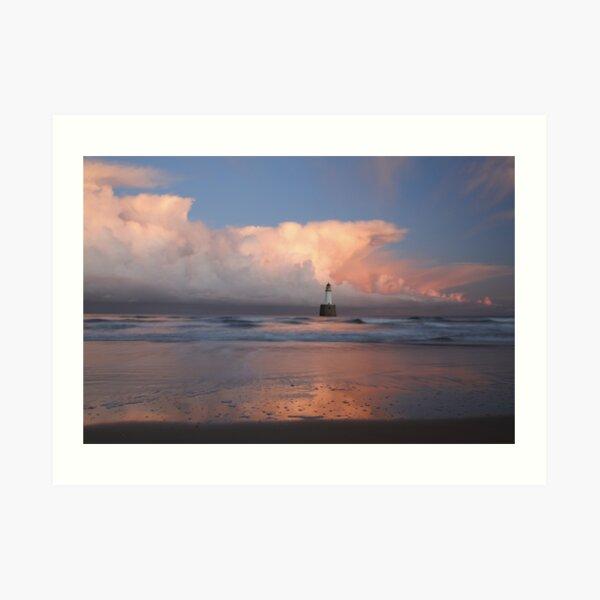 Rattray Head Lighthouse Art Print