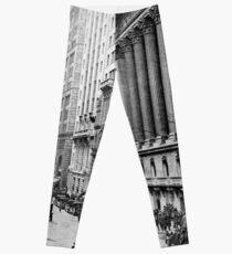 Legging Vintage Wall Street NYC Photograph (1921)
