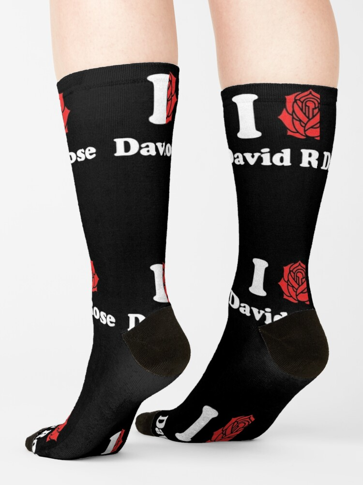 Alternate view of I Love David Rose Schitt's Creek Socks