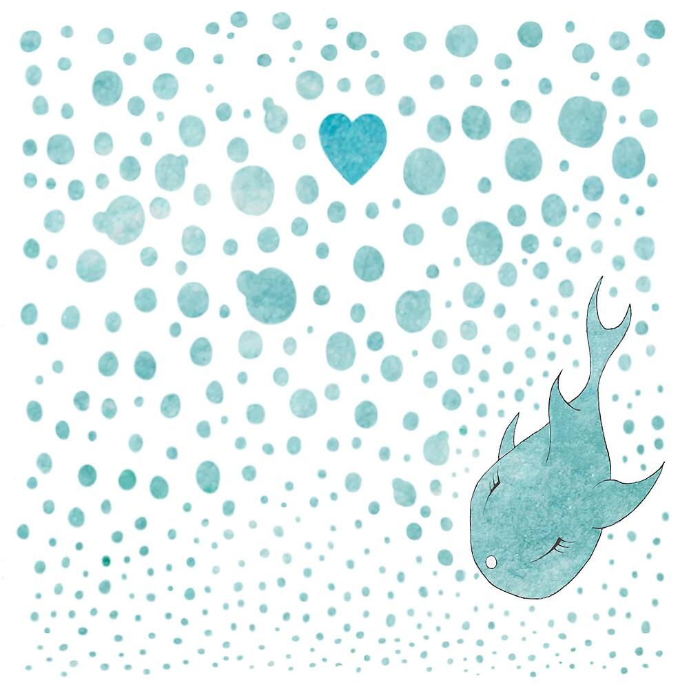 Love Bubble by Alexandra  Waterman