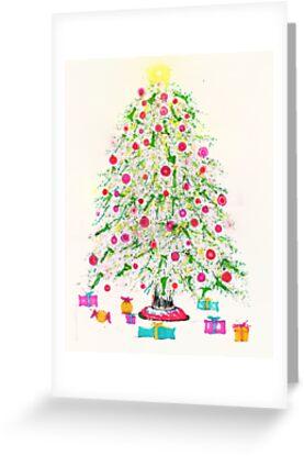 Christmas tree 2011 by Regina Valluzzi