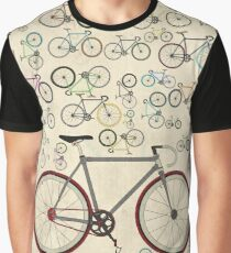 Love Fixie Road Bike Graphic T-Shirt