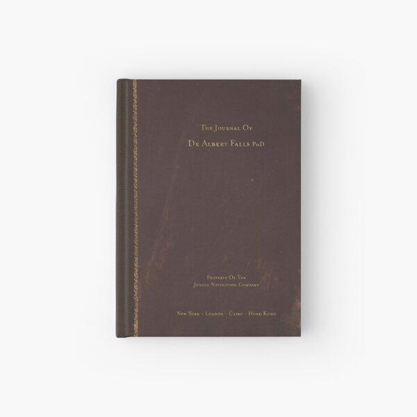 The Journal of Albert Falls, PhD Notebook Hardcover Journal