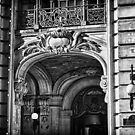 Ansonia Building Entrance detail by BlackRussian