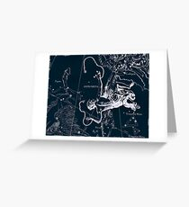 Andromeda Constellation Greeting Card