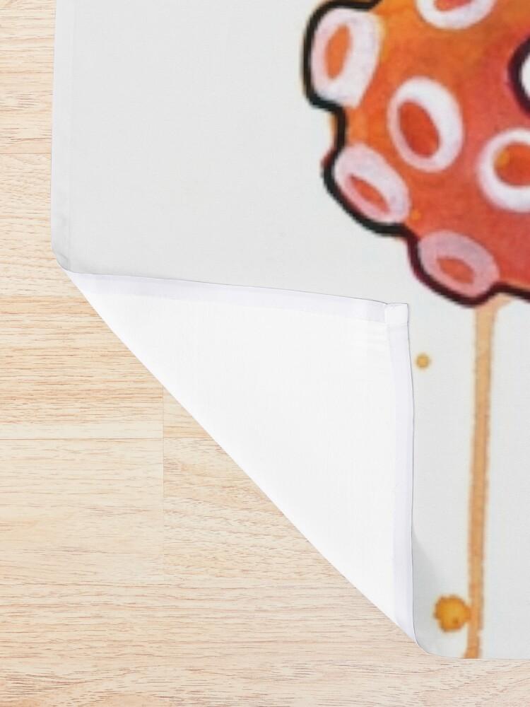 Alternate view of Octopus Sunrise Shower Curtain