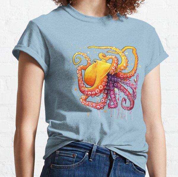 Octopus Sunrise Classic T-Shirt
