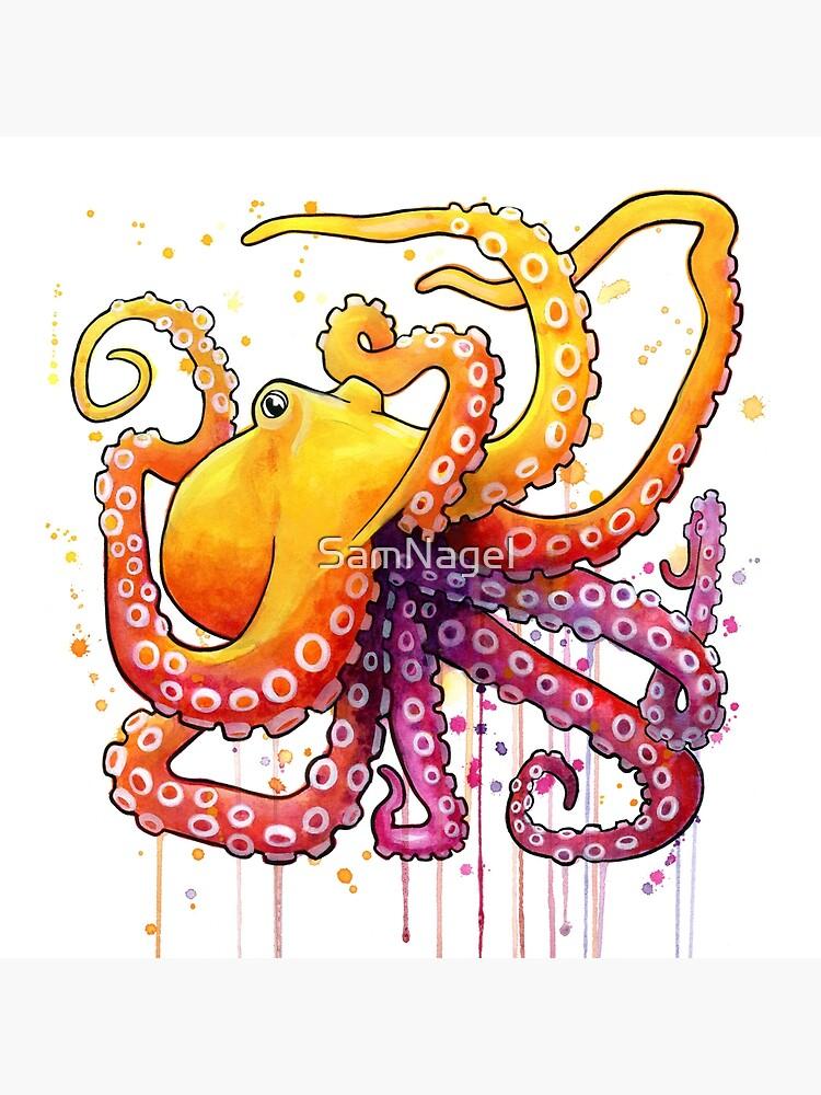 Octopus Sunrise von SamNagel