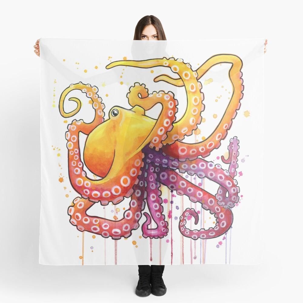 Octopus Sunrise Scarf