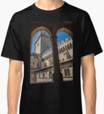 France. Avignon. Papal Palace. Classic T-Shirt