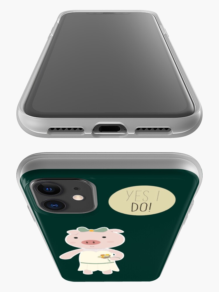 Alternate view of Yes I Do! - Bride iPhone Case & Cover