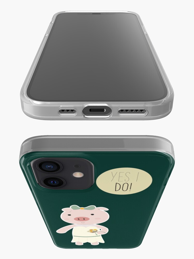 Alternate view of Yes I Do! - Bride iPhone Case