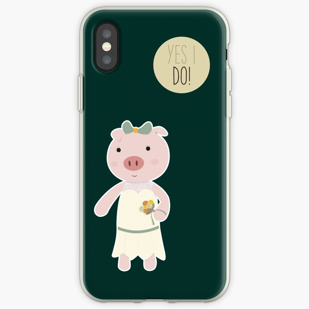 Yes I Do! - Bride iPhone Case & Cover