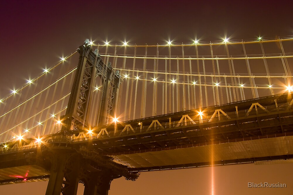 Manhattan Bridge Beauty Shot by BlackRussian