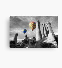 Hot Air Balloons Over Capadoccia Turkey - 2 Canvas Print