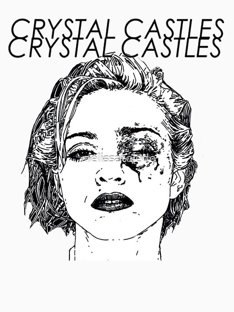 TShirtGifter presents: Crystal Castles Shirt RETRO | Unisex T-Shirt