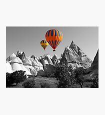 Hot Air Balloons Over Capadoccia Turkey - 5 Photographic Print