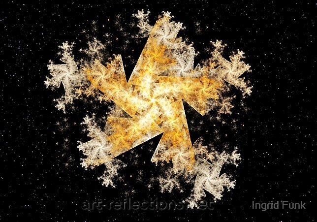 Starry Night by Ingrid Funk