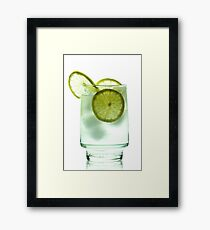 Gin and Tonic Framed Print
