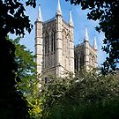 Lincoln Cathedral towers by Jenny Setchell