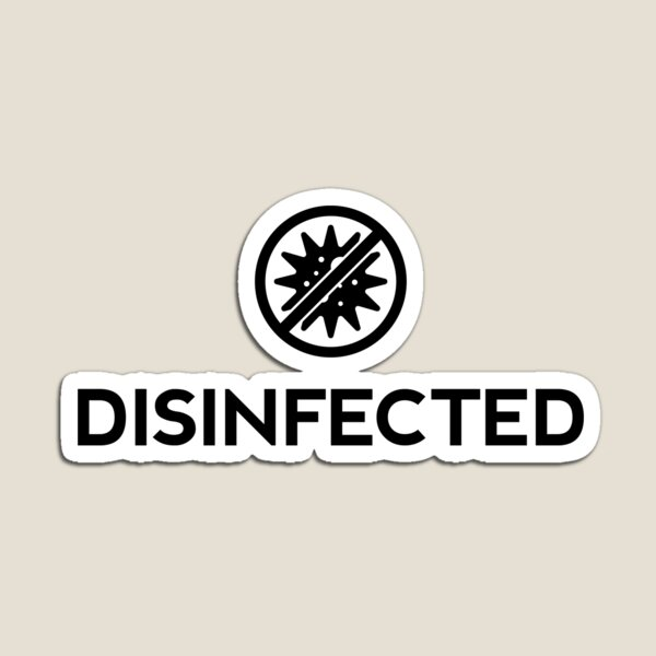Disinfected Magnet